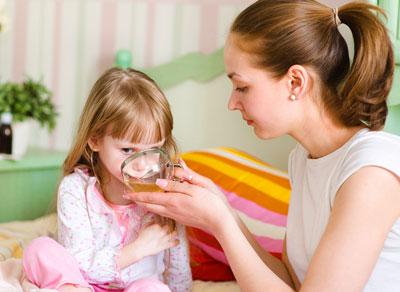 Лечение ребенка травяными настоями