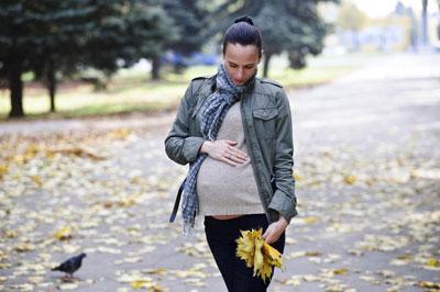 прогулки во время беременности