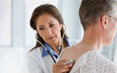 обследование у терапевта