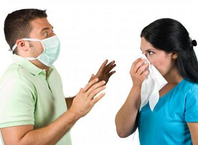 Контакт с больным человеком