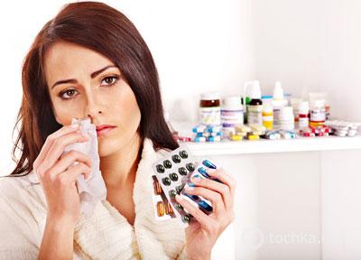 Лекарства для лечения простуды
