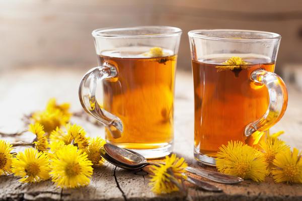 Мать-и-мачеха, чай от кашля
