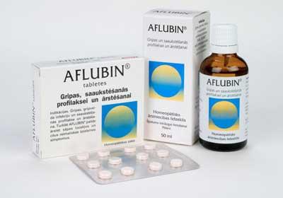 препарат Афлубин