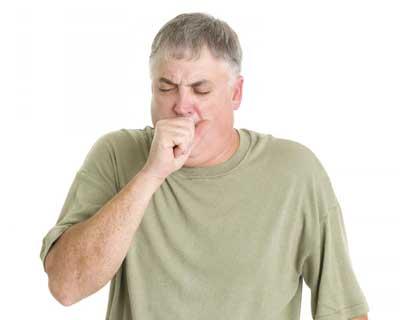 сильный сухой кашель