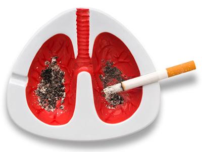 пепельница - вред курения